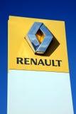 Renault Sign Royalty-vrije Stock Foto's