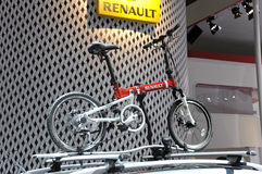 Renault small sport bicycle Royalty Free Stock Photos