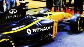 Renault sportów samochodu formuły bolid Zdjęcia Stock