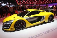 Renault Sport na exposição automóvel de Paris - em outubro de 2014 Imagem de Stock
