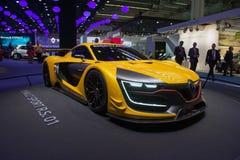Renault Sport R S bil för 01 begrepp Fotografering för Bildbyråer