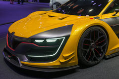 Renault Sport R.S. 01 concept car Stock Photography