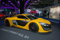 Renault Sport R.S. 01 concept car Royalty Free Stock Photos