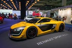 Renault sport R S 01 pojęcia samochód Fotografia Royalty Free