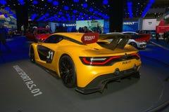 Renault sport R S 01 pojęcia samochód Fotografia Stock