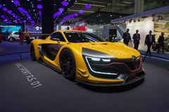 Renault sport R S 01 pojęcia samochód Obraz Stock