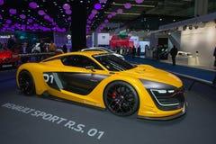 Renault sport R S 01 pojęcia samochód Zdjęcia Royalty Free