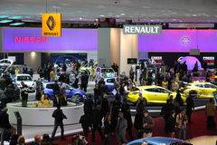 RENAULT stand Royalty Free Stock Photography