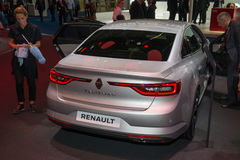 Renault Talisman - European premiere. Royalty Free Stock Images