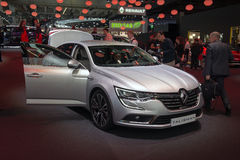 Renault Talisman - European premiere. Stock Photography