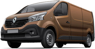 Renault Trafic Stock Images