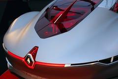 Renault Trezor begreppsracerbil Royaltyfri Fotografi