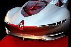 Renault Trezor begreppsracerbil Arkivfoton