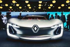 2016 Renault Trezor pojęcie Zdjęcie Royalty Free