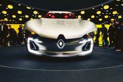 2016 Renault Trezor pojęcie Zdjęcia Stock