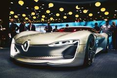 2016 Renault Trezor pojęcie Zdjęcie Stock