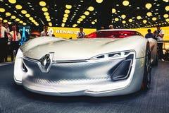 2016 Renault Trezor pojęcie Obraz Stock