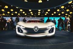 2016 Renault Trezor pojęcie Zdjęcia Royalty Free