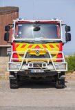 Renault truck of French civil security, front view Stock Photography