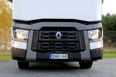 Renault Truck Tractor T480, Headlight Detail Stock Photography