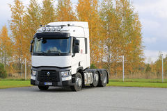 Renault Truck Tractor T Parked on a Yard Stock Photo