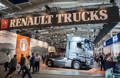 RENAULT TRUCKS stand at the 65th IAA Stock Images