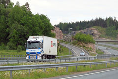 Renault Trucks T Semi on Motorway Stock Photo