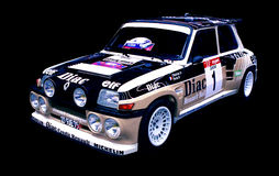Renault 5 Turbo 2 Images libres de droits