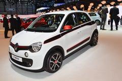 Renault Twingo bij de de Motorshow van Genève Stock Afbeeldingen