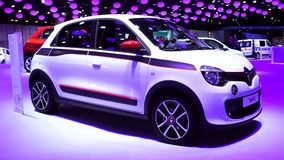 Renault Twingo compact car stock video