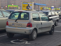 Renault Twingo parked Stock Images