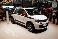 Renault Twingo Premiere Geneva 2014 Stock Image