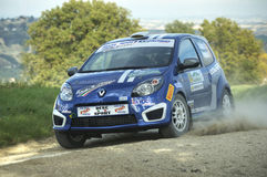 Renault Twingo rally car Royalty Free Stock Photo