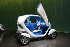 Renault Twizy Stock Photos
