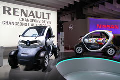 RENAULT Twizy Royalty Free Stock Photo