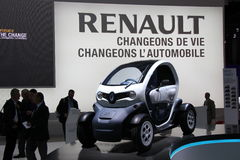 RENAULT Twizy Royalty Free Stock Image