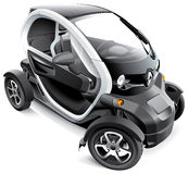 Renault Twizy Fotos de Stock Royalty Free