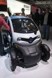 Renault Twizy concept Royalty Free Stock Photo