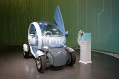 Renault Twizy - de Genebra mostra 2010 de motor Fotografia de Stock Royalty Free