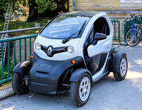Renault Twizy electric car in Zurich, Switzerland Stock Photography