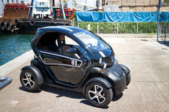Renault Twizy Electronic Car Stock Image