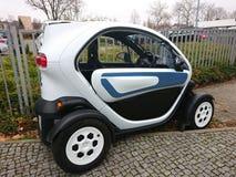 Renault Twizy Elektryczny samochód obrazy royalty free