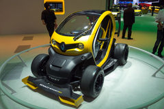 Renault Twizy sport F1 Royalty Free Stock Photography
