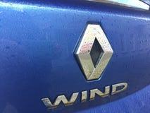 Renault wiatru samochodu logo zdjęcie royalty free