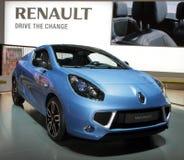 Renault wickeln - Genf-Autoausstellung 2010 Stockbilder