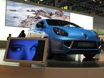 Renault wickeln Weltpremiere stockfotos