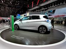 Renault ZOE Stock Image