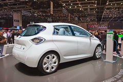 The Renault Zoe Royalty Free Stock Images
