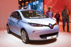 Renault Zoe Royalty Free Stock Photos