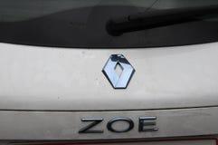 Renault Zoe elektryczny samochód Zdjęcie Royalty Free
